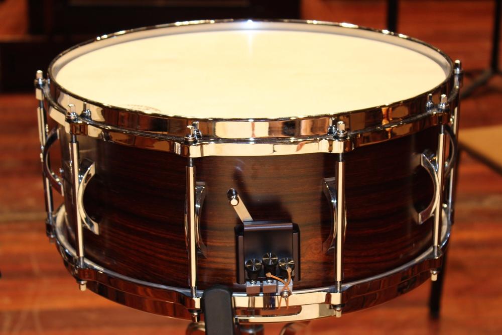 """Black Swamp 6.5"""" Unibody Cocobolo Snare Drum"""