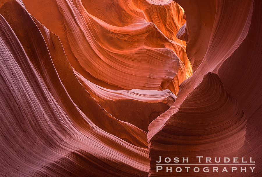 Lower Antelope Canyon has some remarkable wind-carved rock formations.