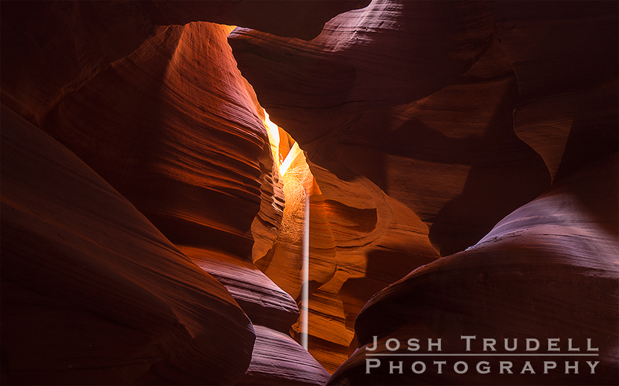The light beams in Upper Antelope Canyon make for some wonderful photographs.