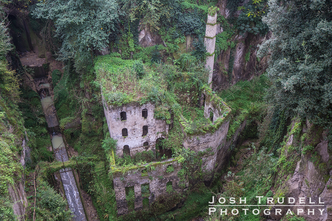 The Valley of the Mills in Sorrento.