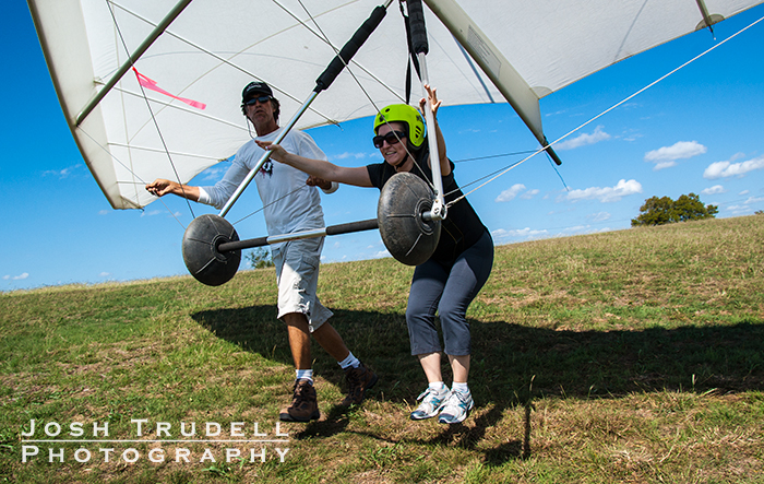 Josh Trudell Photography hang gliding in Luling