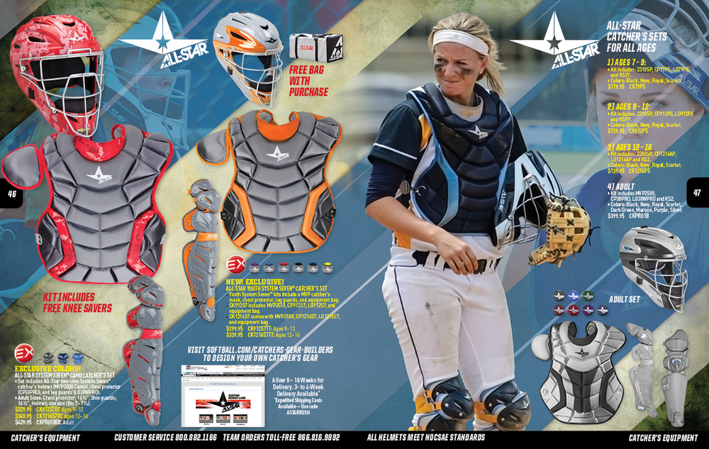 All-Star Catcher's Spread - Softball.com