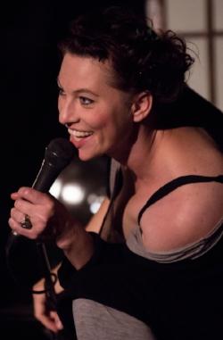 Amanda Palmer, in Austin, Texas