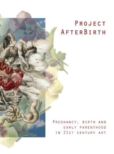 Project AfterBirth   exhibition catalogue, 2015, cover artwork:   Germination   (2014), archival pigment print, by Belinda Kochanowska (AUS)
