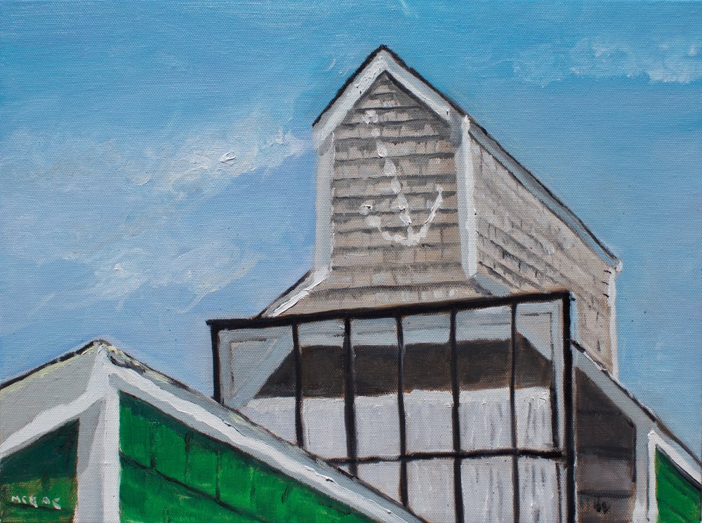 "Oil on Canvas 12"" X 16"""