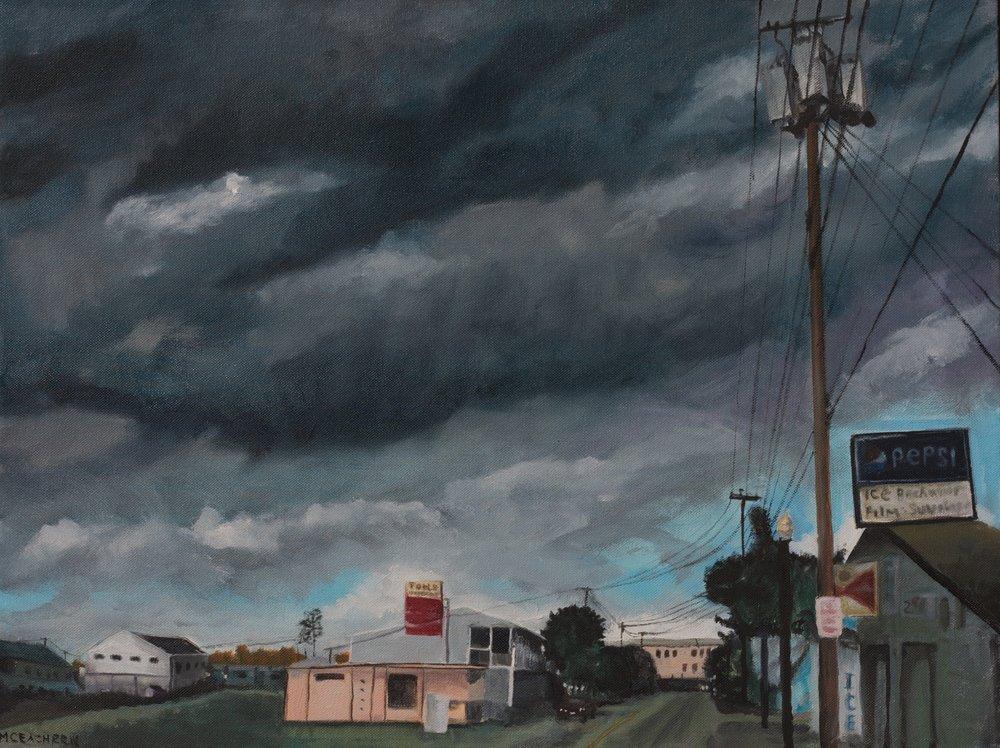 Departing Storm
