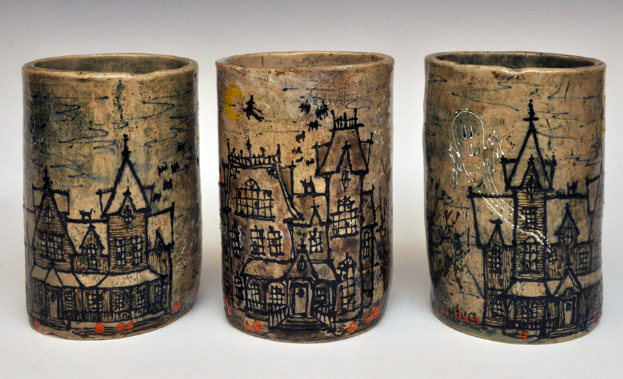 Haunted House Mugs