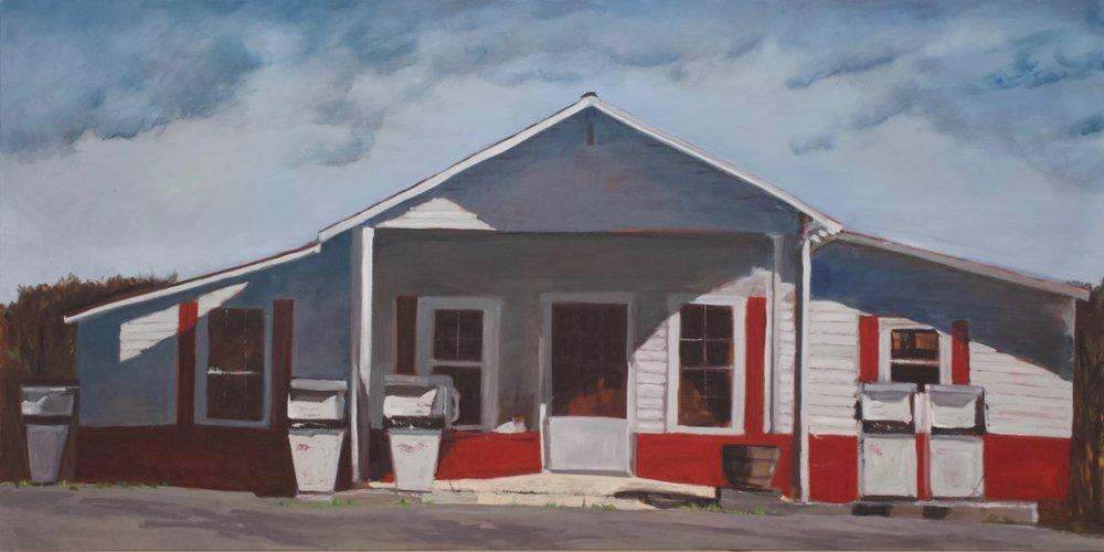 """Daltons 1  Oil on Canvas  36"""" X 72"""""""