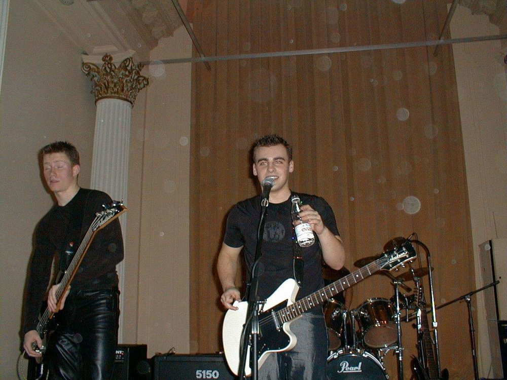Brian performing yesteryear