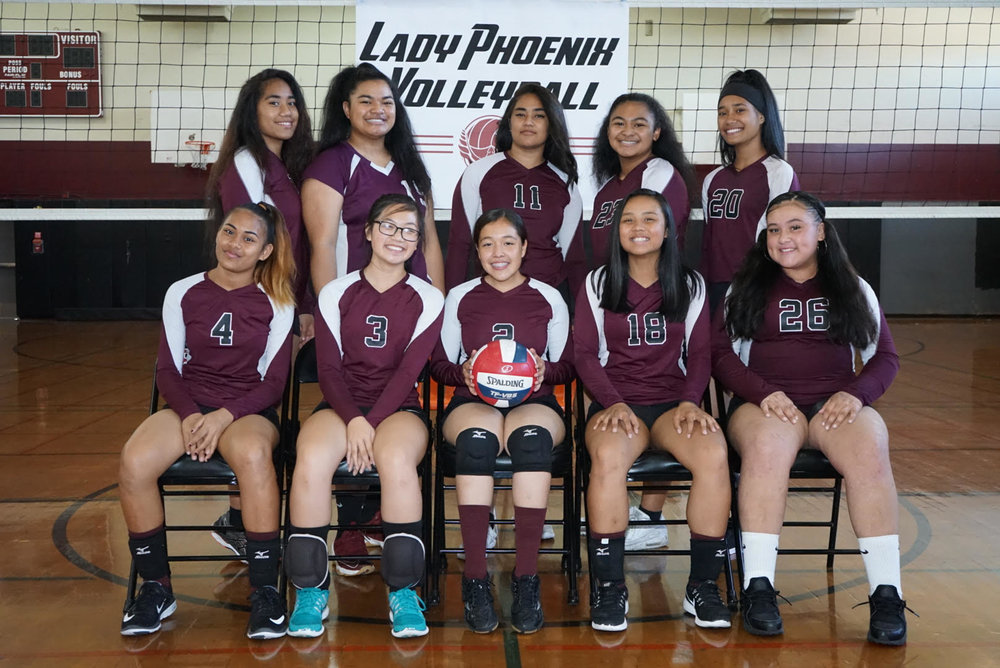 CONGRATULATIONS TO OUR 2017 GIRLS VARSITY VOLLEYBALL TEAM! 1st Place in Division 2 - AWESOME job Lady Phoenix on your historic run!  Next stop, PLAYOFFS!!