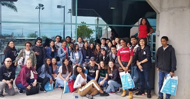TMAHS students attend the National Association for College Admission Counseling Conference in Santa Clara