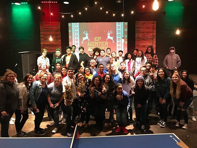 🍝Night 2 of EP Winter Nights was the BOMB!! Each team brought their A game completing each rough, disgusting, and jolly loud challenge! How fun it was and can't wait till next week!! 🍝
