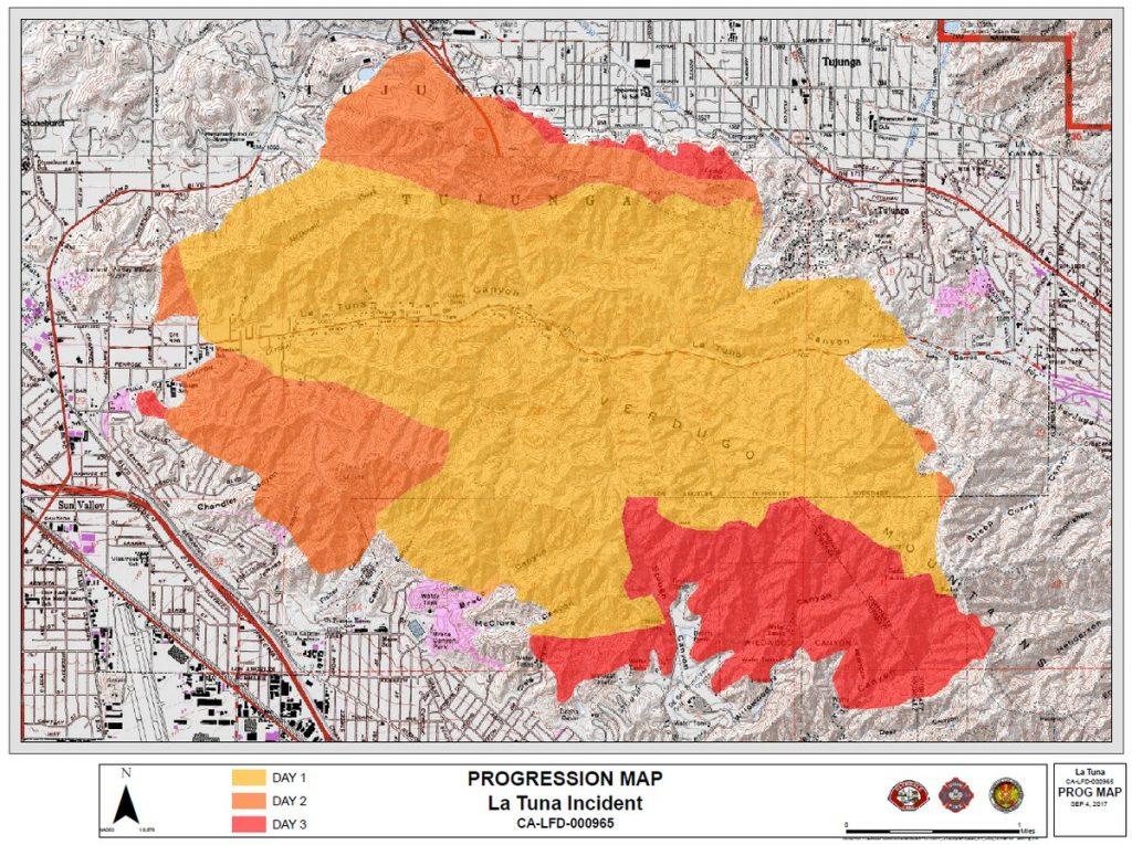 La Tuna Canyon Fire Map Do's and Don'ts: Post La Tuna Canyon Fire Information Session