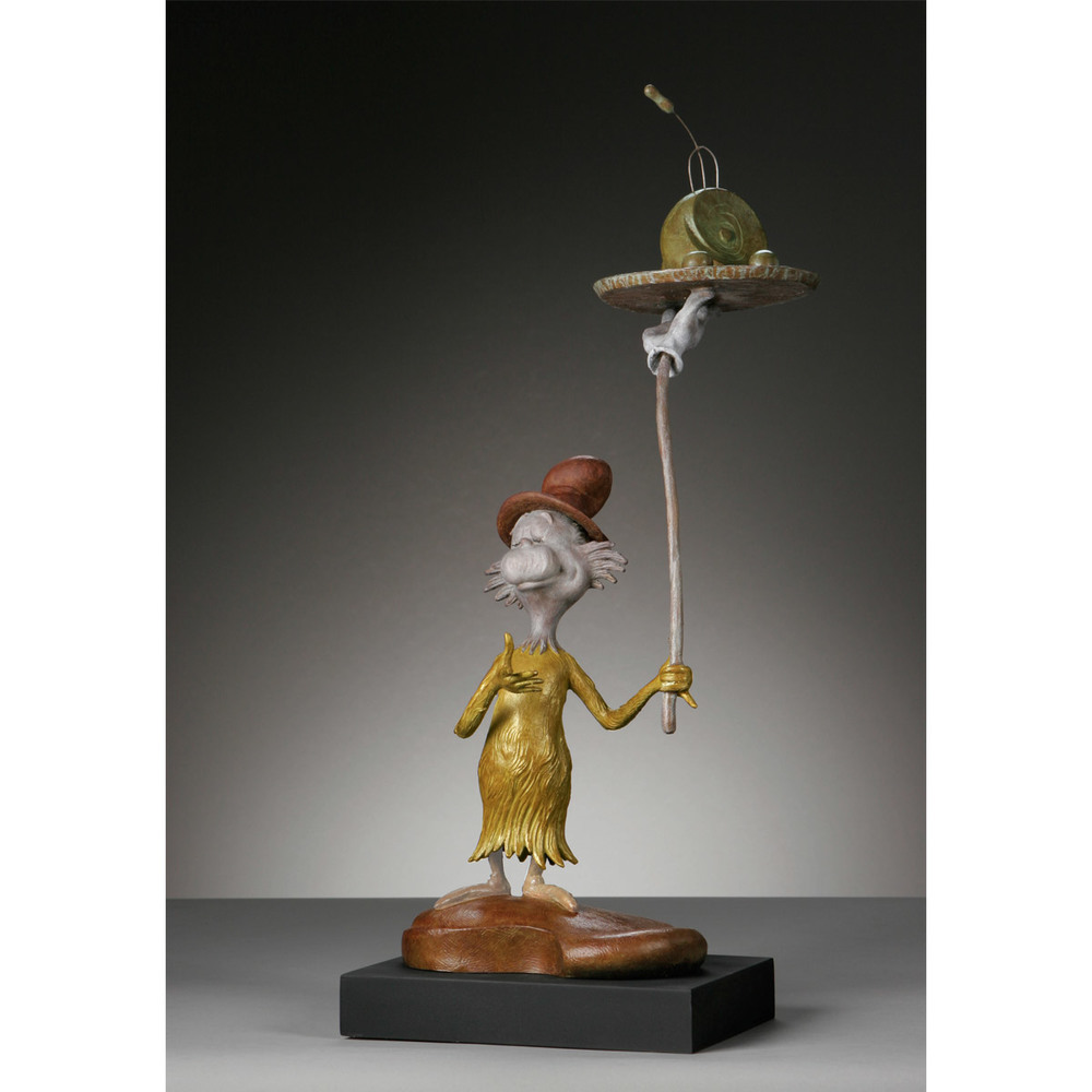Green Eggs and Ham - Bronze Maquette