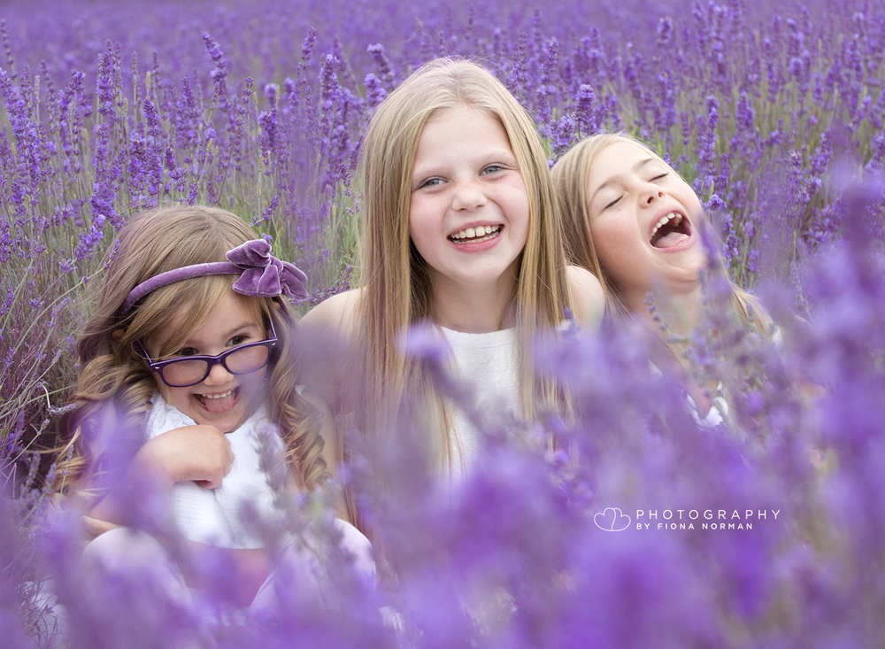 Outdoor photographer lavender fields