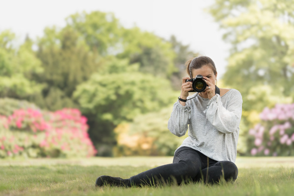 photographer with camera, maidenhead and windsor