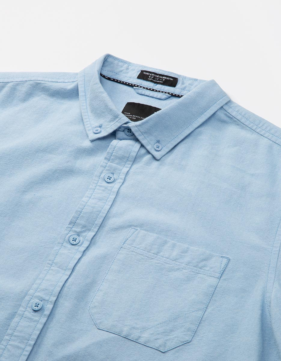94340c091457a Uncle Long Sleeve Oxford - Tavik — 5th and Hall