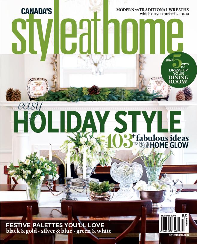 Style at Home | November 2011