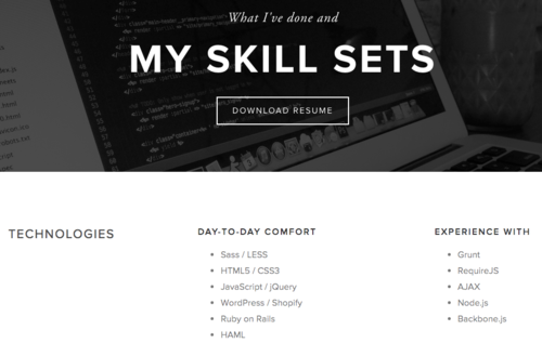 why squarespace is bad at resumes and how to fix them left
