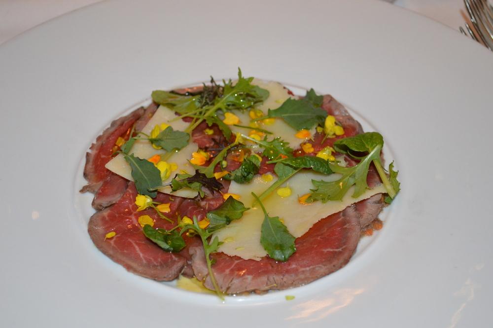 Beef Carpaccio.