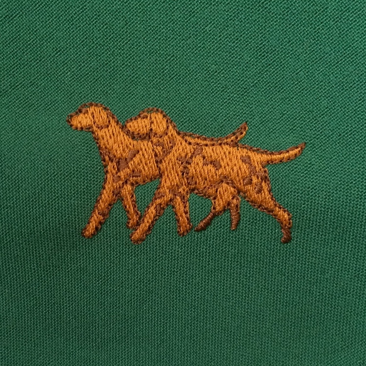 Vizsla Embroidered Napkin.jpg