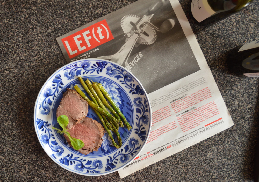Filet mignon from D'Artagnan, alongside CPI's LEF(t) publication