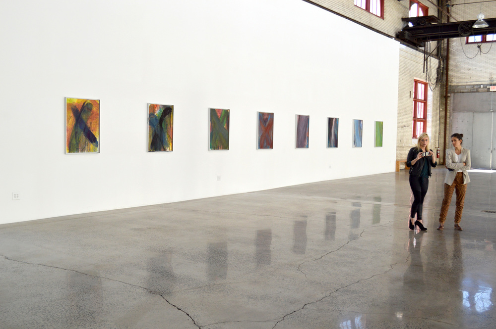 Installation shot: Arnulf Rainer, presented by the Ayn Foundation