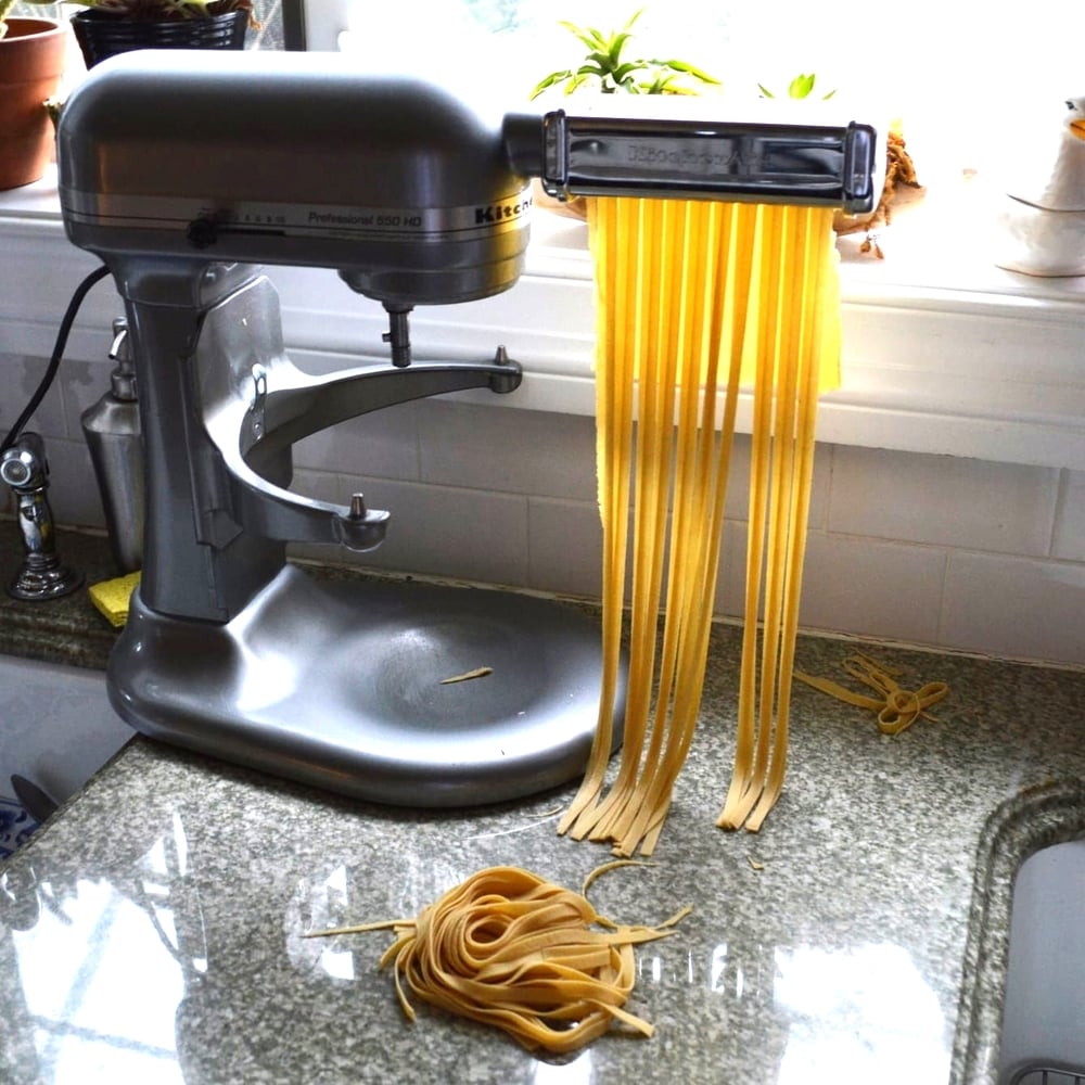 Basic Homemade Pasta — Victory Club