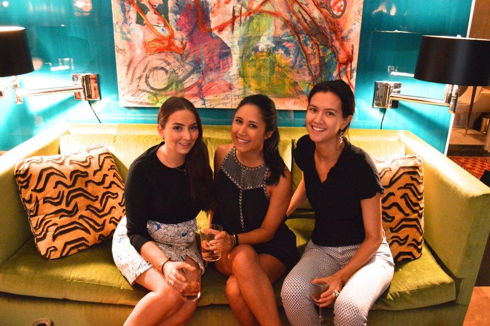 Madelaine D'Angelo, Katya Khazei, & Tina Garrity