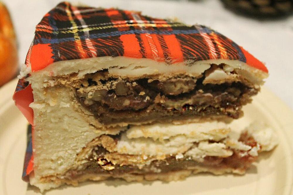 Piecaken with Tartan #ChefanieSheet