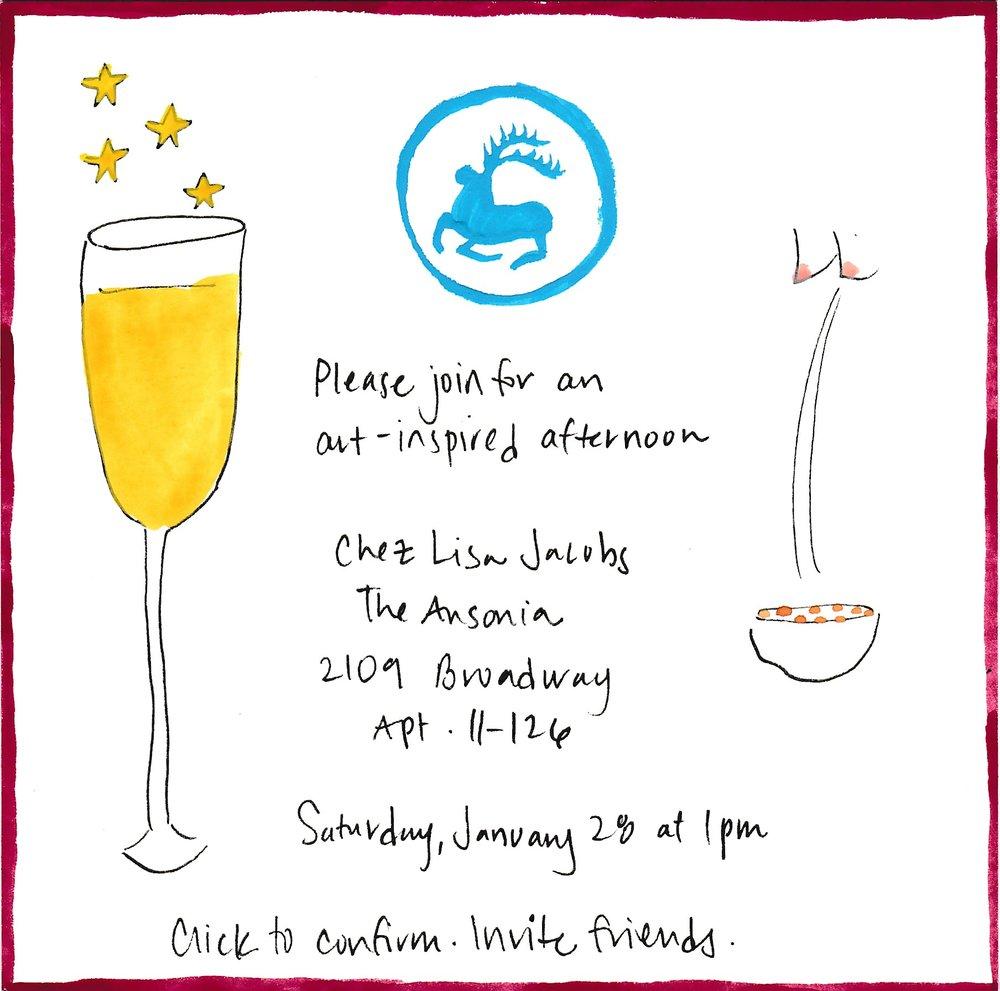 January 28 invitation