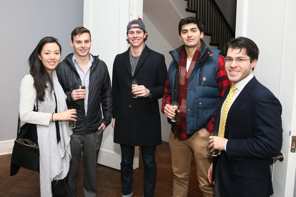 From left: Vicki Morton, Mason Krause, Jack Lorge, Teddy Nass, Ethan Goldstein. Photo credit: Noa Griffel for BFA