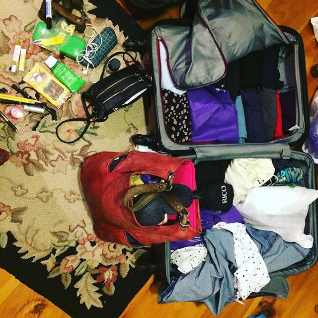#overpacking for #diymusicianconference but a girl's gotta have her professional day wear and party dress! #independentmusic #community #avantfolk