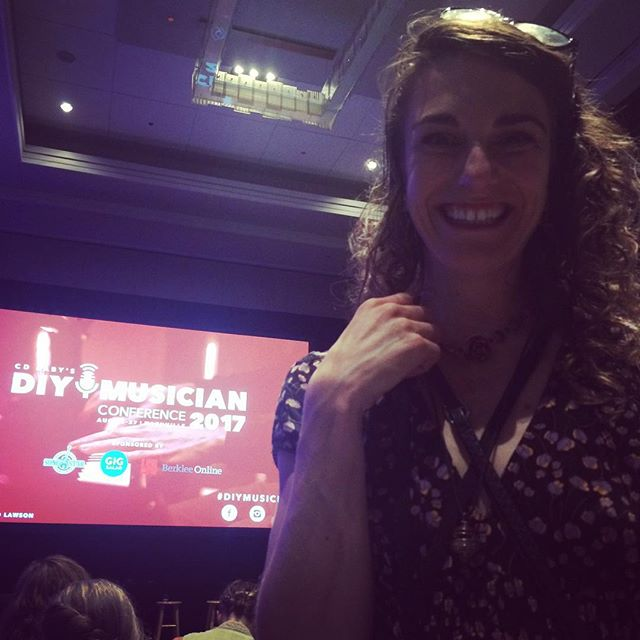 Psyched to be here!!! #diymusicianconference #IndependentMusiciansUnite #avantfolk #community