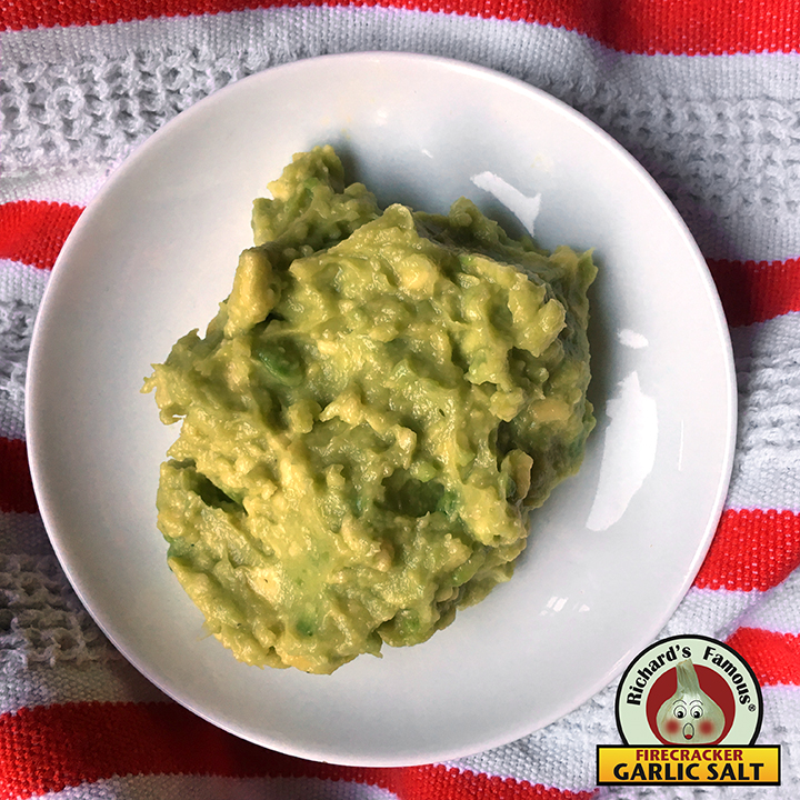Richard's Famous Easy Firecracker Guacamole