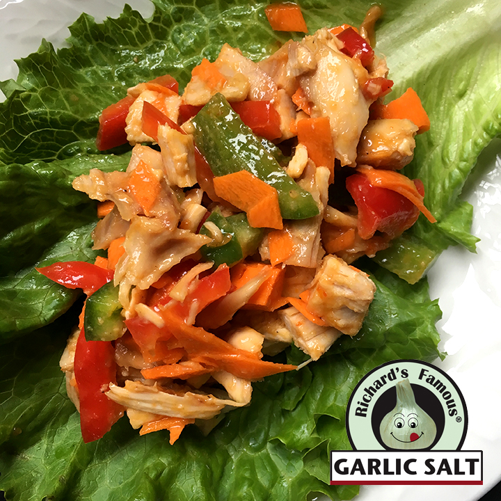 Richard's Famous Thai Chicken Lettuce Wraps