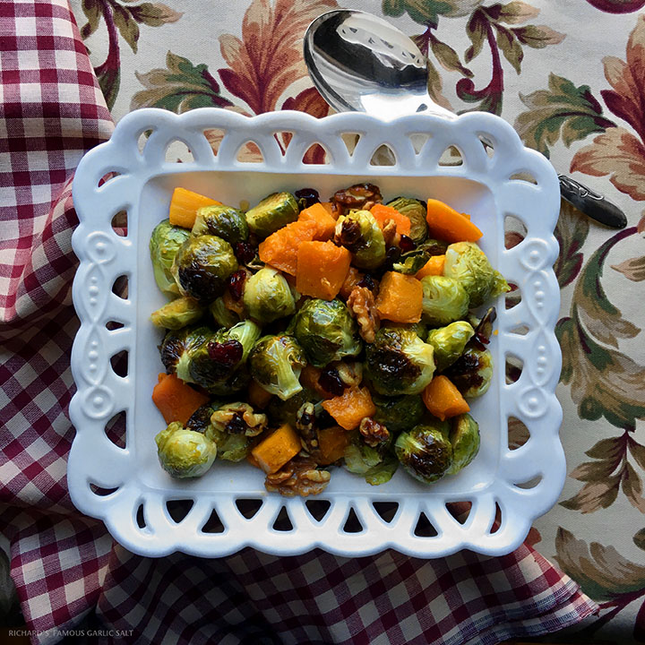 Richard's Famous Holiday Brussel's Sprouts