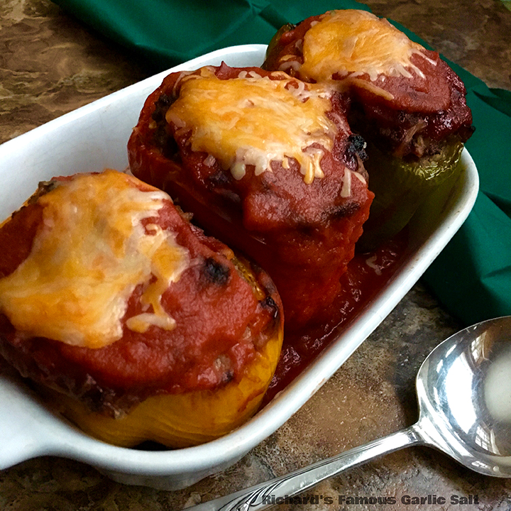 Richard's Famous Roasted Stuffed Peppers