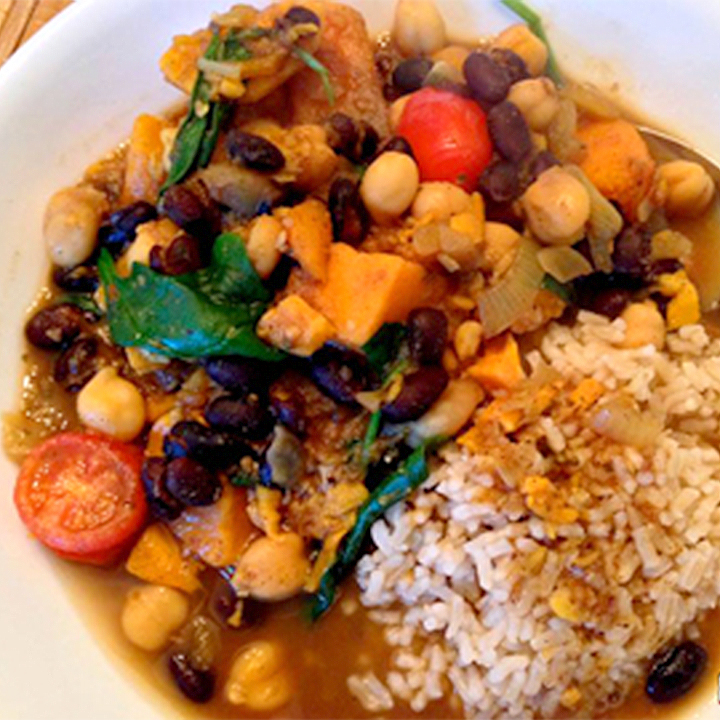 Moroccan-Style Sweet Potato Stew