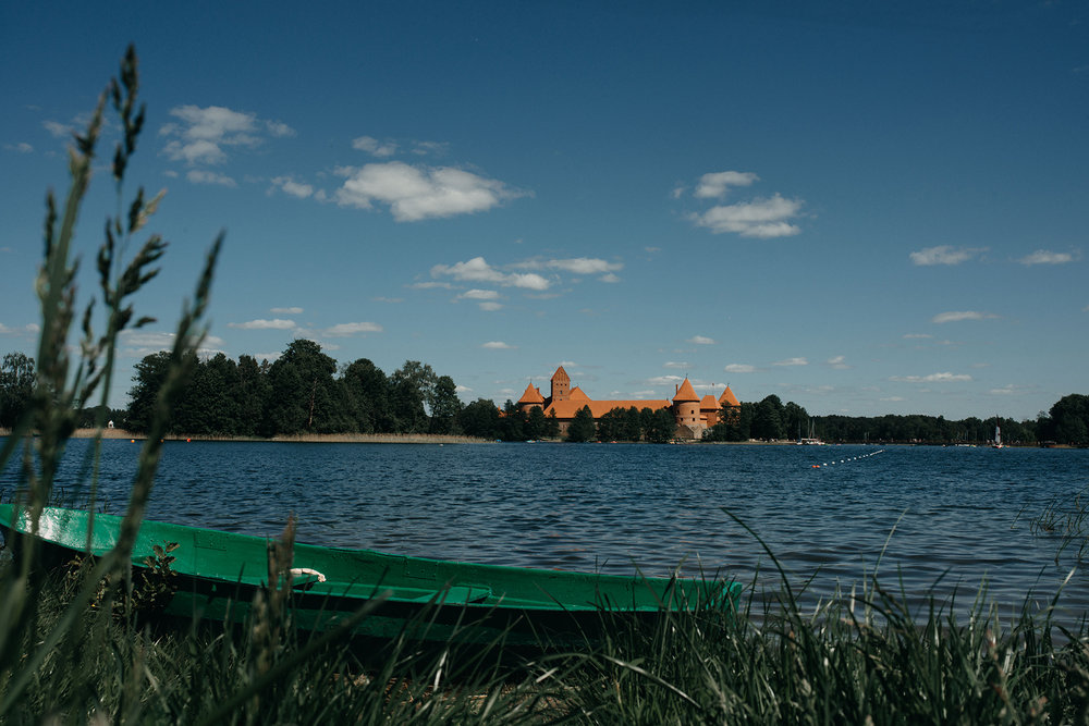 Trakai stock photography
