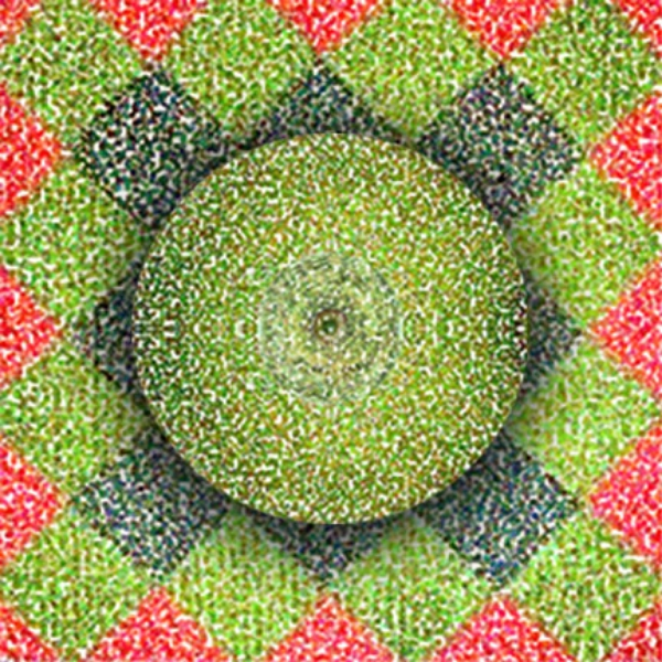Lime and Pattern, 2004  Digital Painting