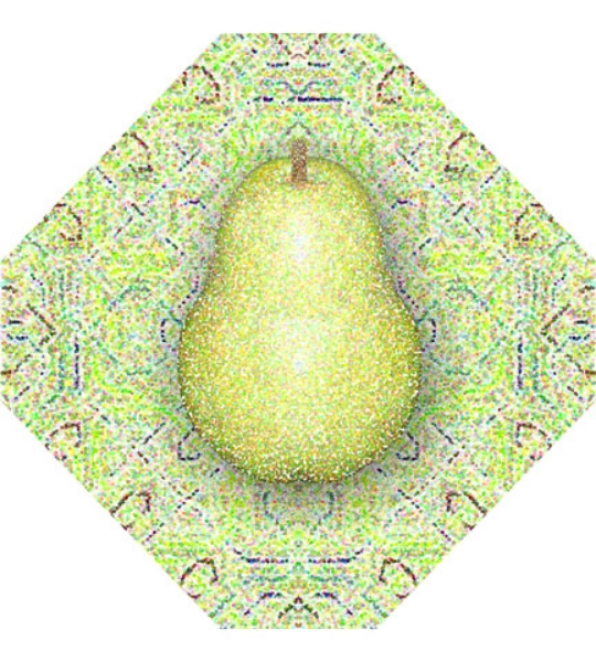 Delicate Pear, 2004  Digital Painting