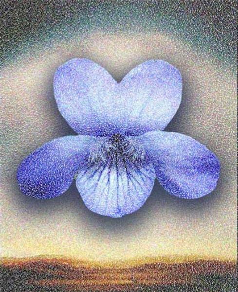 Pat, 2004  Digital Painting