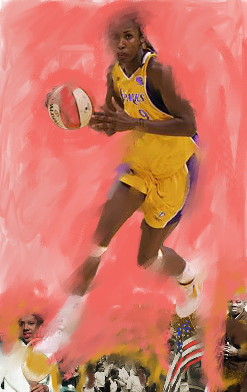 Lisa Leslie, 2013  Basketball