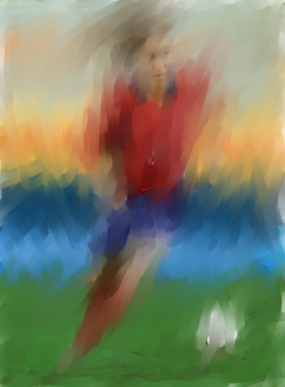 Mia Ham, 2012  Soccer