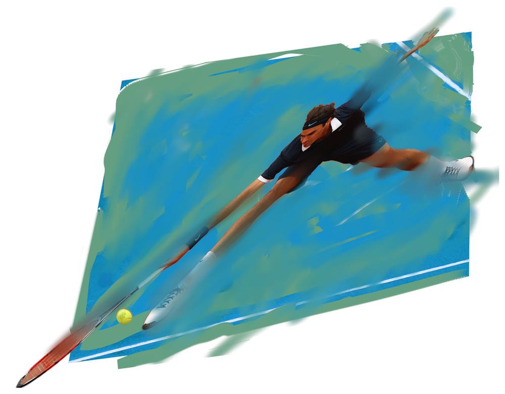 Roger Federer, 2010  Tennis