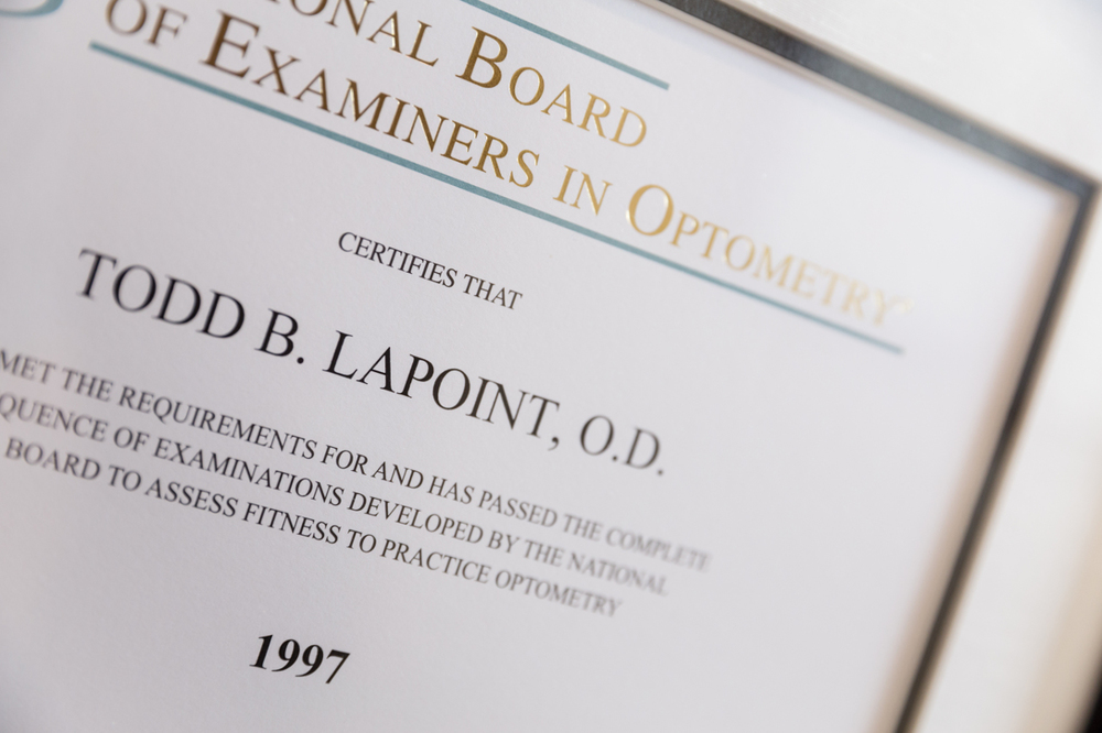 Dr. La Point Board Certification