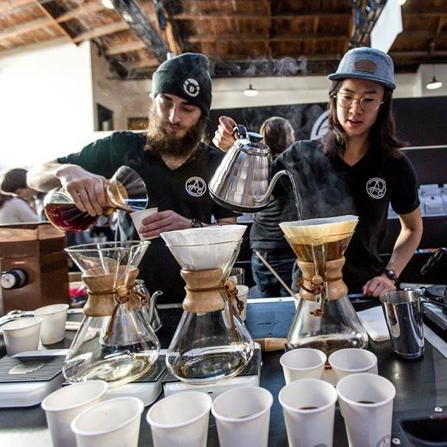 The @sfcoffeefestival is officially SOLD OUT! We're excited to be at @dogpatchstudios this Saturday for the ultimate coffee experience with 20 specially curated roasters and coffee shops☕️ . . . . . . . . #sanfrancisco #coffeefest #coffeevibes #sfevents #hospitality #eventproduction #coffeetawlk #letsgo #coffeegram #allegrocoffee