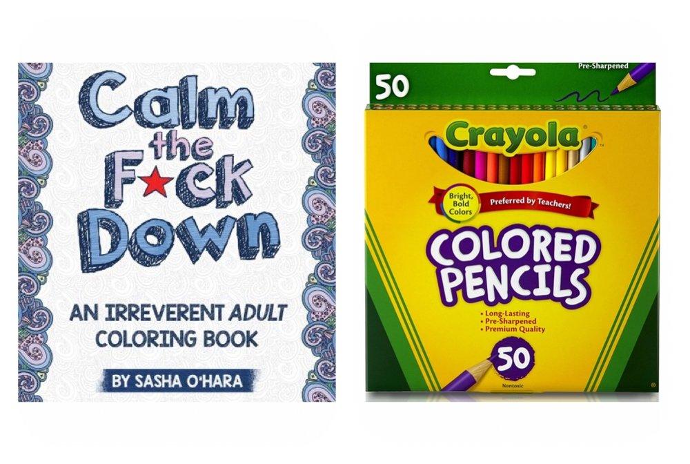 Parental Advisory Coloring Books