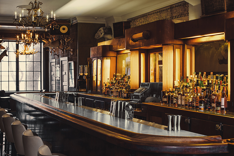 The Updated Tavern Maintains A Few Lines Of Its History, From Its  Sportsmanu0027s Club Name To The Original Art Deco Bar.